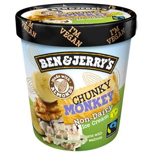 Glaces sans gluten : pour lesquelles craquer ?! - La chunky monkey de ©Ben & Jerry's
