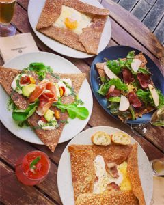 @riho_ochibi au Breizh Café de Tokyo ! Où manger sans gluten à Tokyo ?!