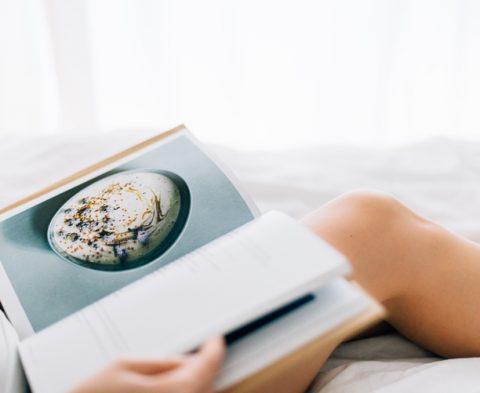 Livres de cuisine sans gluten et végétariens ou vegan ©Alona Kraft