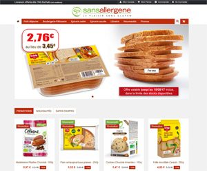 Le guide des e-shops sans gluten ! ©Sansallergenes