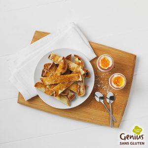Des mouillettes plus naturelles ? ©Genius - Le bon plan pour des courses sans gluten avec Genius