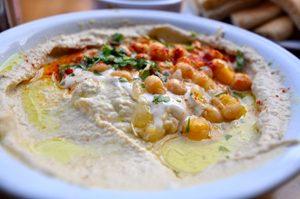 Un peu de humous ? ©Inbal Food Tour sans gluten en Israël !