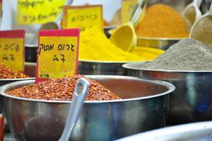 Un tour du marché ? ©Inbal - Food Tour sans gluten en Israël !