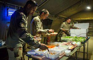 Peut-on manger sans gluten dans l'armée ? - En OPEX ©Armée Française - Opérations Militaires