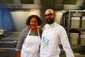 Céline, la chef sans gluten et sans reproche ! Céline et Eric ©62 Degrés