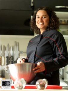 Céline, la chef sans gluten et sans reproche ! ©Didier Depoorter