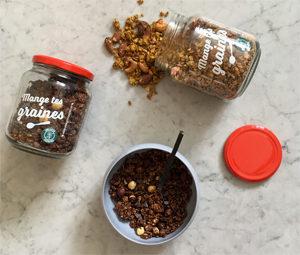 Où trouver un granola sans gluten ?! - Mange Tes Graines ! ©Because Gus