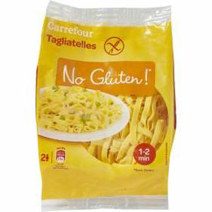 Par quoi remplacer les pâtes de blé ?! - Les tagliatelles ©Carrefour No Gluten