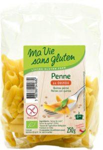Par quoi remplacer les pâtes de blé ?! - Les penne quinoa ©Ma Vie Sans Gluten