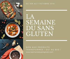 C'est la Semaine du Sans Gluten ! ©La Semaine du Sans Gluten