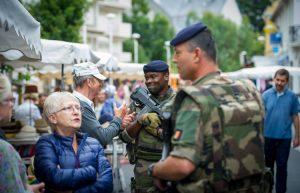 Peut-on manger sans gluten dans l'armée ? - La force Sentinelle ©Armée Française - Opérations Militaires