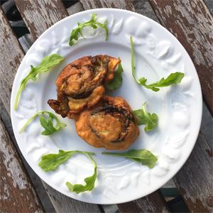 La recette des pakoras sans gluten avec Schär - C'est prêt !! ©Because Gus