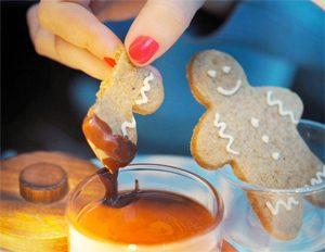 Biscuits sans gluten de Noël : ateliers avec Céliane ! Tea time à la fin de l'atelier ! @Fashionfoiegras