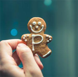 Biscuits sans gluten de Noël : ateliers avec Céliane ! Petit biscuit tout mimi ! ©Pietro de Grandi