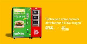 Enfin des distributeurs automatiques sans gluten ! Le fameux distributeur ! ©So Fast So Good