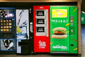 Enfin des distributeurs automatiques sans gluten ! Plus de distributeurs ? ©So Fast So Good