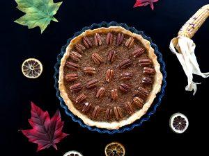 La delicious tarte aux noix de pécan sans gluten ! Et voilà le résultat ©Because Gus