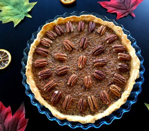 La delicious tarte aux noix de pécan sans gluten ! ©Because Gus