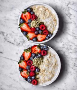 Petit-déjeuner sans gluten, on mange quoi ? - Porridge pour qui ? @Sarndilia