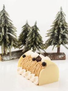 Où trouver une bûche sans gluten ? ©Géraldine Martens pour Sitron