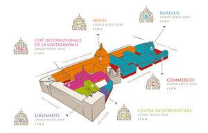 Go Healthy, le prochain salon sera à Lyon !! - Le projet de Cité Internationale Gastronomique du ©Grand Lyon