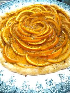 Où manger sans gluten à Lyon ? Tarte à l'orange ©Les Demoiselles Poncet