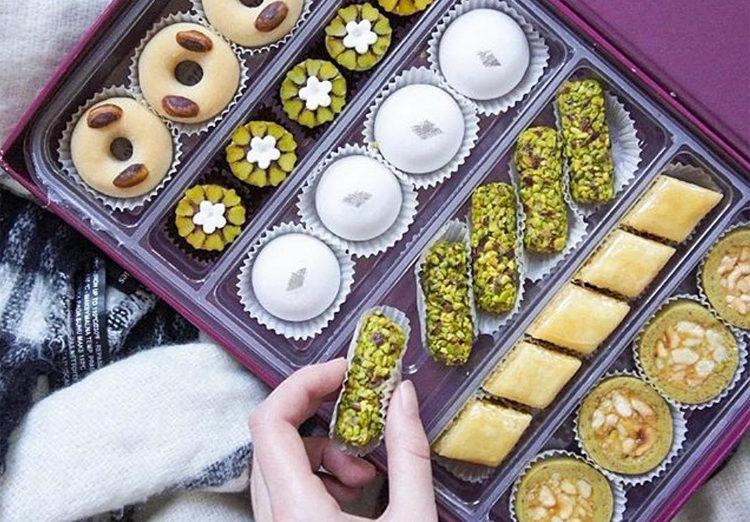Masmoudi - pâtisseries orientales sans gluten @pariswithcharlotte