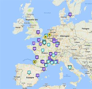 La carte des adresses sans gluten débarque enfin !! - La fameuse carte ! ©Because Gus