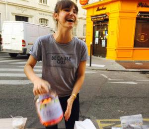 La carte des adresses sans gluten débarque enfin !! - Le t-shirt ! ©Because Gus