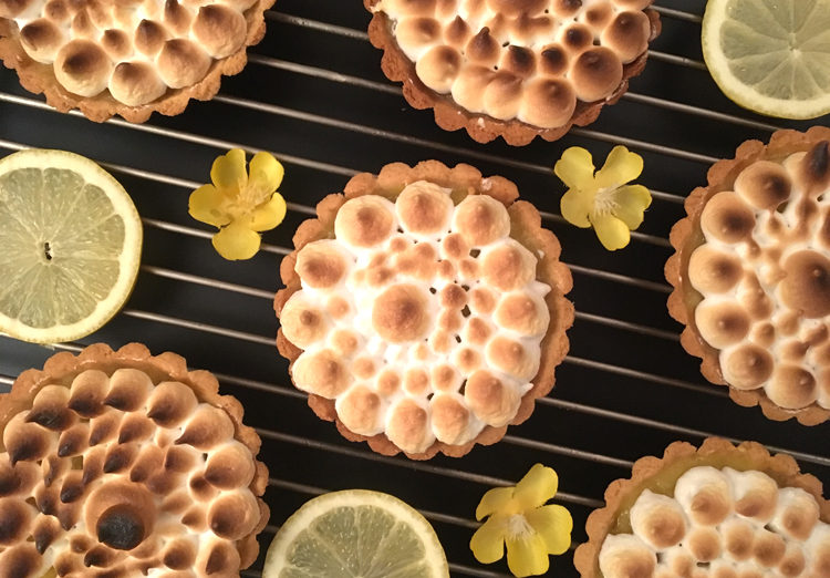 Ze tarte au citron meringuée sans gluten !! ©Because Gus