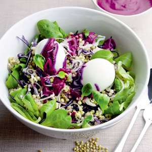 Valérie Cupillard, auteure sans gluten avant-gardiste ! - Salade de Sarrasin ©Valérie Cupillard