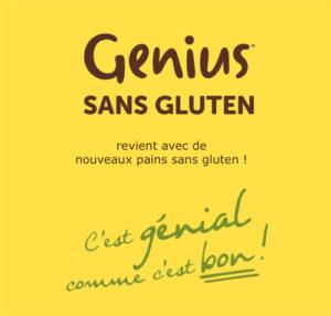Genius revient chez Monoprix avec des nouveautés sans gluten ! ©Because Gus