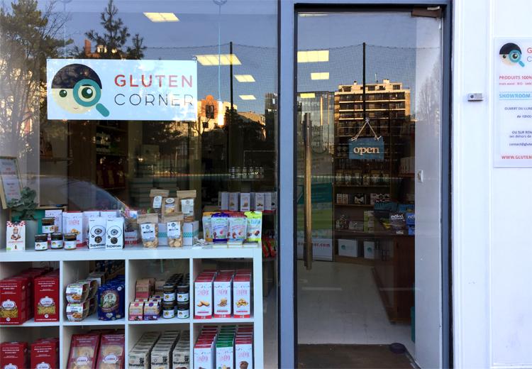 GlutenCorner - boutique 100% sans gluten à Paris