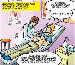 Syndrome de l'intestin irritable : des bruits du tonnerre ! - La BD de l'©APSSII