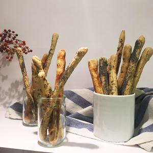 Et voici la recette des gressins sans gluten ! - Tadaaaaaaa ! ©Because Gus