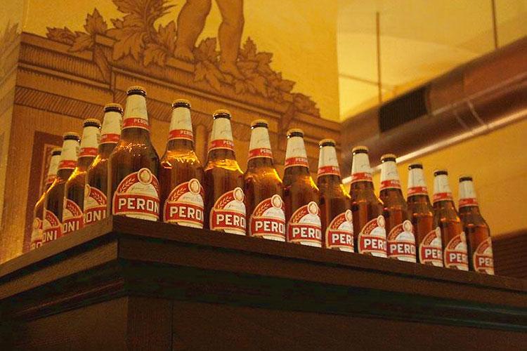 Antica Birreria Peroni - bière sans gluten à Rome ©Antica Birreria Peroni