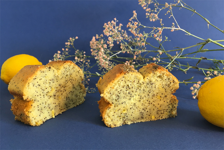 Délicieux cake citron-pavot sans gluten ni lactose @Because Gus