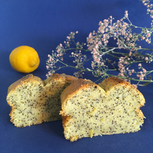 Voilà le résultat ! ©Because Gus - Délicieux cake citron-pavot sans gluten et vegan