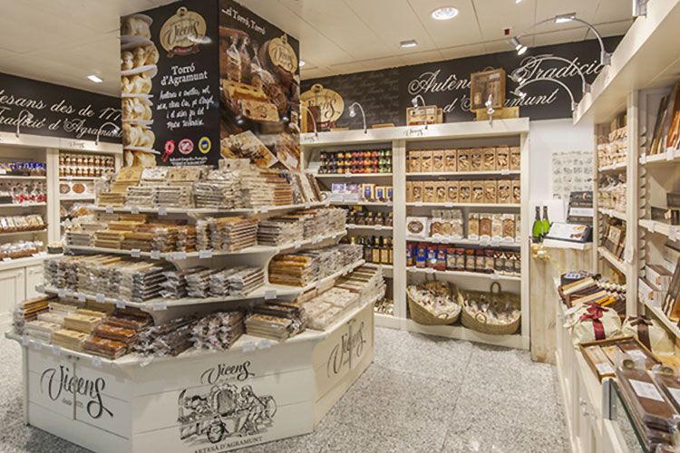 El Corté Inglès - sans gluten à Madrid ©Vicens