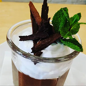 La mousse au chocolat vegan et sans gluten ©Paradis Marguerite