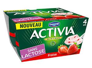 Avalanche de yaourts sans lactose ! ©Activia
