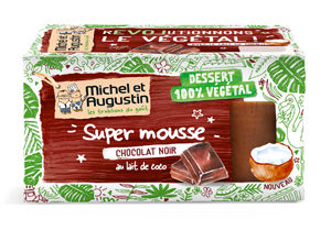 Le secret de la mousse au chocolat vegan ! ©Michel et Augustin