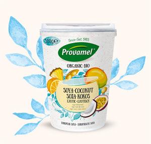 Avalanche de yaourts sans lactose ! - ©Provamel