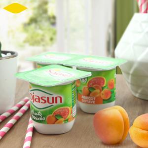 Avalanche de yaourts sans lactose ! ©Sojasun