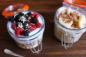Avalanche de yaourts sans lactose ! ©Yanina Trekhleb
