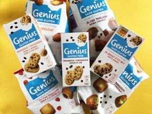 On croustille de plaisir avec la baguette sans gluten de Genius ! Le lot à gagner !! ©Because Gus