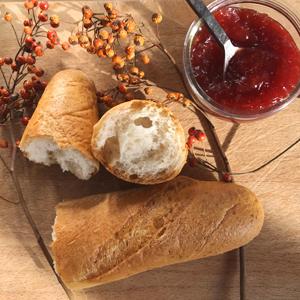 On croustille de plaisir avec la baguette sans gluten de Genius ! Cette mie !! ©Because Gus