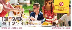 On fête le mois du sans gluten avec Schär !! Rdv sur facebook pour les lives ©Schär