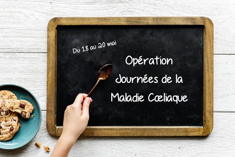 C'est l'Opération Journées de la Maladie Cœliaque ! ©Because Gus