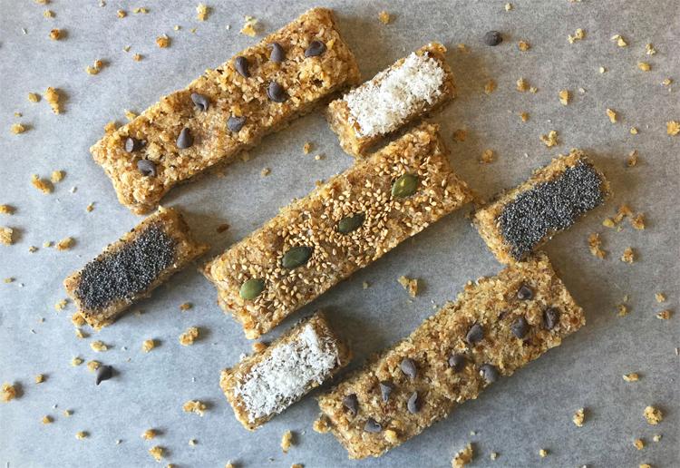 La recette des barres énergétiques sans gluten ! ©Because Gus
